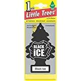 Little-Trees Black Ice Little Tree Air Freshener- 36 Pack