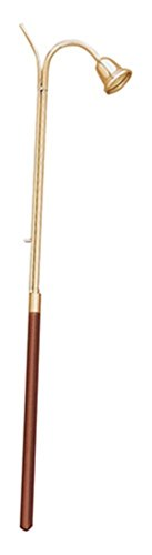 Stratford Chapel Brass Candle Lighter Bell Snuffer with Wood Handle (36 Inch) by Stratford Chapel