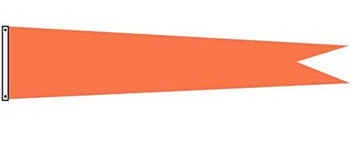 Dori Pole Pennant Flag (Orange, 14 Foot) by Dori Pole