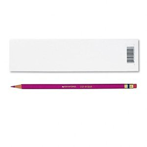 Prismacolor Col-Erase Erasable Colored Pencil ROSE Set/12 by Prismacolor