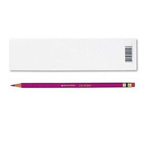 - Prismacolor Col-Erase Erasable Colored Pencil ROSE Set/12