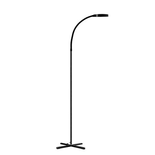 Joly Joy Reading Floor Lamp, Dimmable Flexible Gooseneck LED Floor Lamps for Living Room, Touch Control Standing Lamps for Room, Bedroom, Office, Task (4000K) (Floor Gooseneck Reading Lamp)