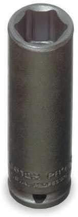 PROTO J6508H 1//4 Dr 1//4 Size 6 Pts SAE Impact Socket