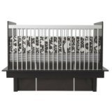 Cheap Oilo Modern Berries Standard Crib Set, Brown