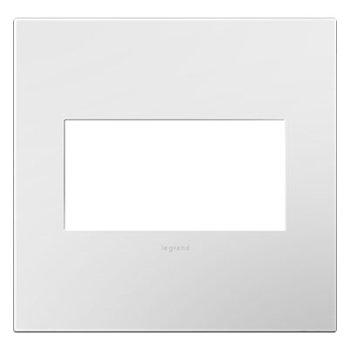 Legrand Adorne AWP2GWH4 2 Gang Wall Plate 4 Pack Glossy White
