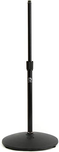 - Atlas Sound Low Profile Mic Stand Ebony Medium