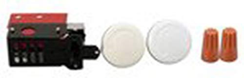 (Dimplex TWHT1 Built in Stat Single Pole, White)