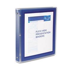 * Flexi-View Round-Ring Presentation View Binder, 1-1/2