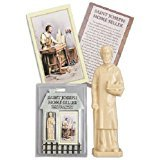 Religious Saint Joseph Statue Home Seller Kit with Prayer Card and Instructions (Pack of 2) -