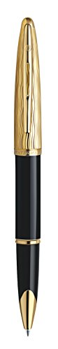 Waterman Carene Essential Black and Gold, Rollerball Pen with Fine Black refill (S0909790) by Waterman (Image #3)