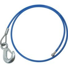 Roadmaster 910650 Single Hook EZ Hook 64 Inch Straight Safety Cable 6000 Pound Capacity RV -