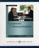 Corporate Communication, Argenti, Paul A., 0256057052
