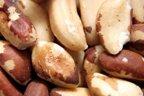 Brazil Nuts, Raw, Shelled, Organic, 44# Bulk
