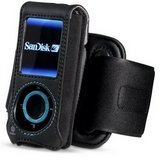 Belkin Sansa E200 Series Holster with Removable Armand - Bla