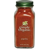 Simply Organic Ground Paprika, 2.96 Ounce - 6 per case