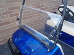 CLEAR Club Car DS Golf Cart Windshield 1982 thru 2000 by Franklin