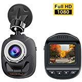 Cheap iGOKU Mini Dash Cam 1080P Full HD 1920×1080, 140° Wide Angle, 1.5″ LCD Dash Camera for Cars with Built-in G-Sensor, Night Vision, Loop Recording, Parking Monitoring, WDR, Video Recorder in Car Camera