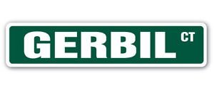 GERBIL Street Sticker