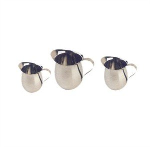 - Creamer Bell, Stainless Steel, 5 Ounce - 12 Per Case