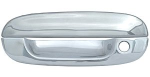 Coast To Coast CCIDH68131B Chrome Door Handle Cover Without Passenger Side Keyhole - Pack Of 4
