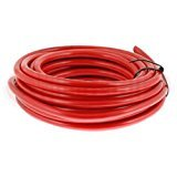Red Hi Flex Welding & Battery Starter Cable 170 Amp 25mm² 1m Length Car Marine Motorbike Mid-Ulster