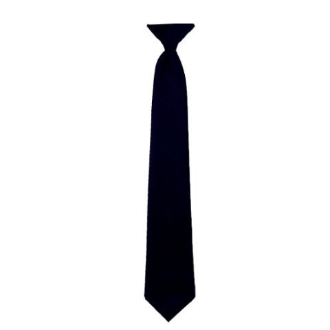 Clip-On Neck Tie - Women's 14.5-Inch - Black