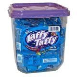 Laffy Taffy Blue Raspberry 165 Count (165 Ct Tub)