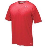 - NIKE Youth Boys Legend Short Sleeve Tee Shirt (Youth Large, Red)
