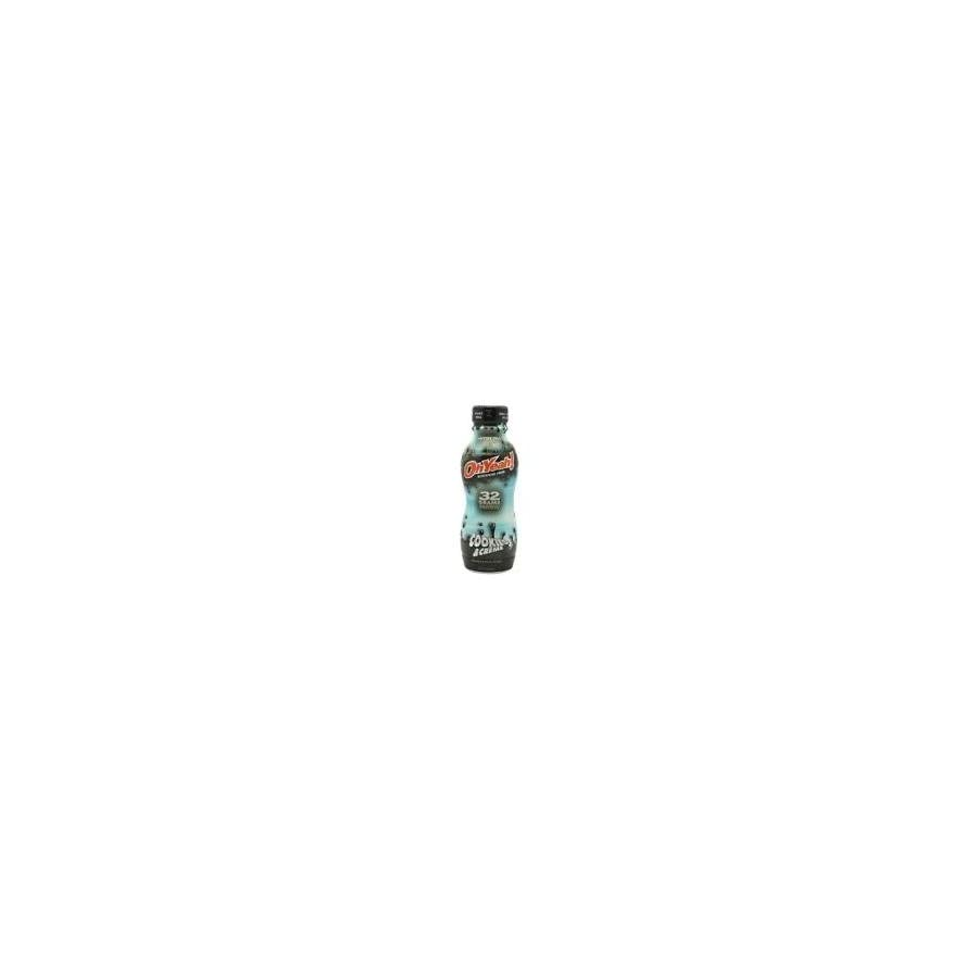 ISS OhYeah Cookies and Cream, 14 Ounce (12 Bottles)