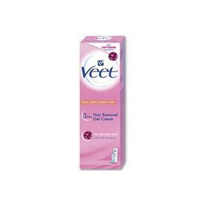 Veet Hair Removal Gel Cream for Normal Skin + Perfect Touch Tool 150ml/5.1 oz