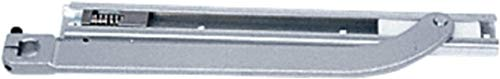CRL Aluminum Finish Offset Arm Assembly with Surface Type Slide-Track for 9/16