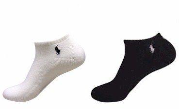 Polo Ralph Lauren Mens Athletic Low Cut Rib Cuff Ped 6-Pair Socks 10-13