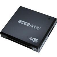 Dane Elec Usb - Dane-Elec 15-in-1 USB 2.0 Flash Memory Card Reader DA-COMBO15-1