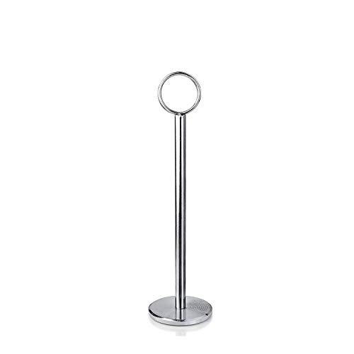 Stainless Steel Harp Number Stand - Tiger Chef 12