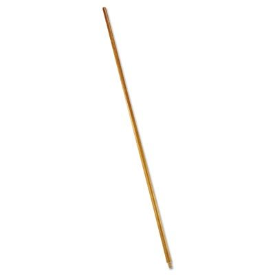 RCP6361 Wood Threaded-Tip Broom/Sweep Handle, 60quot;, Natural