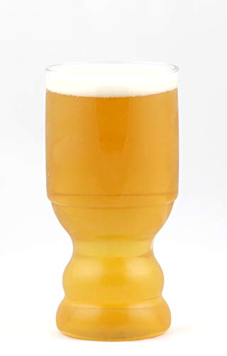 B Cups Lager Outdoor Craft Beer Cups, 4-Piece, BPA and BPS-Free
