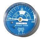Belmed Manifold N2O Gauge - 2'' Diameter 4000-6N2O