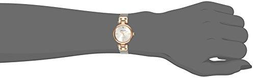 Anne Klein Women s Genuine Diamond Dial Mesh Bracelet Watch
