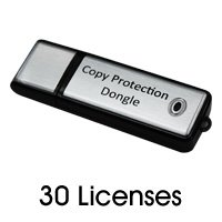 COPY PROTECTION LICENSES - 30 LICENSES Dongle with 30 Licenses