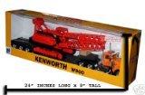 KENWORTH W900 LOWBOY W/ CRANE Truck New Ray