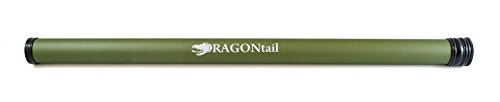 Tenkara Rod Case by DRAGONtail (Matte Olive, 26 in)