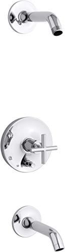 KOHLER T14420-3L-CP Purist bath and shower kit Polished Chrome
