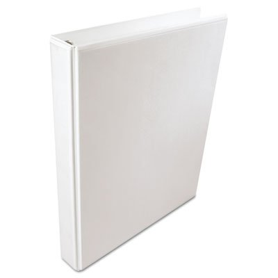 International A4 Size 4-Ring View Binder, 2'' Capacity, White, Sold as 1 Each