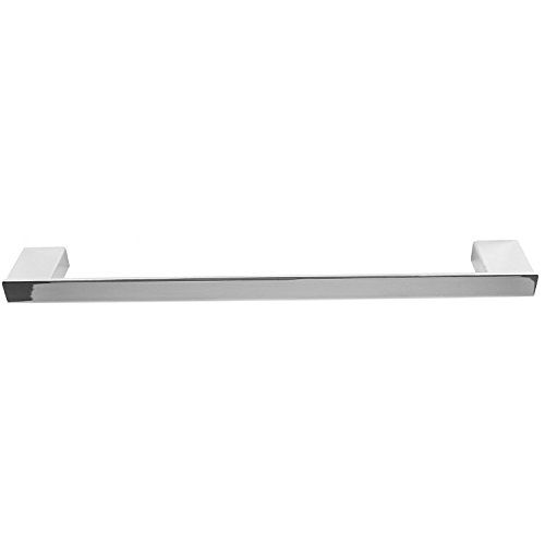 Gedy Lounge Square Towel Bar In Polished, Chrome, 18''