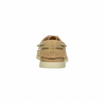 Sperry Top-sider Dames Authentieke Originele Two-eye Bootschoen Desert / Gold Leather