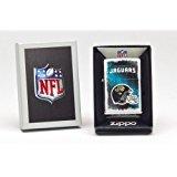 Zippo NFL Jacksonville Jaguars Lighter, Silver, 5 1/2 x 3 1/2cm