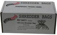 RY19841 Pack of 50 Safewrap Shredder Bag 100 Litre-