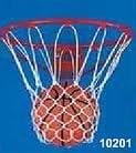 Pack of 2 - Carron Basketball Net - Anti-Whip - Braided Nylon Basketball Net