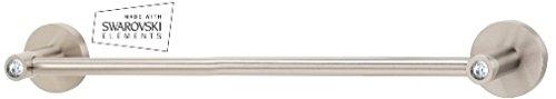 (Polished Chrome) Alno C8320-24-PC Contemporary I Crystal Modern Towel Bars, Polished Chrome B003CHH77C 光沢クロム 光沢クロム