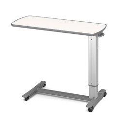 (代引き不可)パラマウントベッド ベッドサイドテーブル / KF-1920 アイボリー(ガススプリング式 ベッドテーブル 介護) B00AWKBXRW
